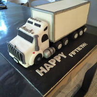 Truck Cake My first ever attempt at a 3D cake.