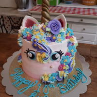 Unicorn Cake First request for a unicorn cake. tried to make it a bit unique.