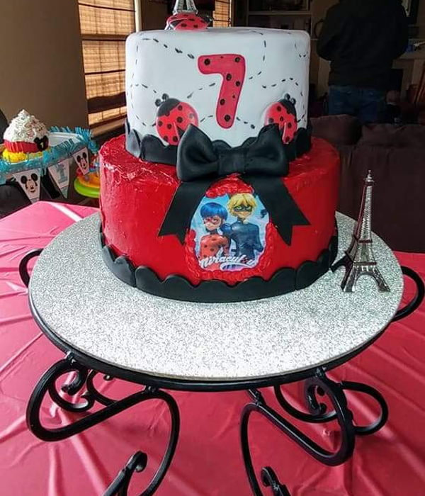 'miraculous' Birthday Cake