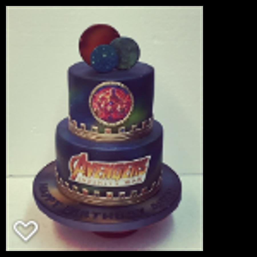 Avengers Infinity War Birthday Cake Cakecentral Com