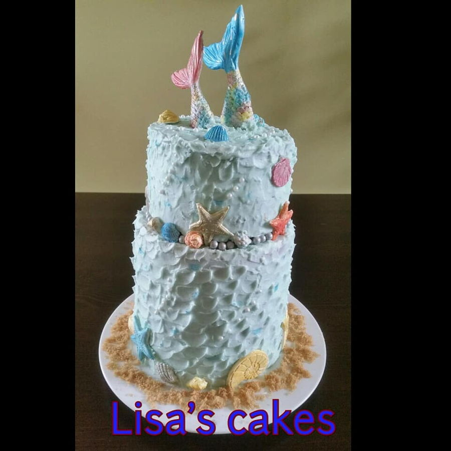 Beach/mermaid Theme on Cake Central