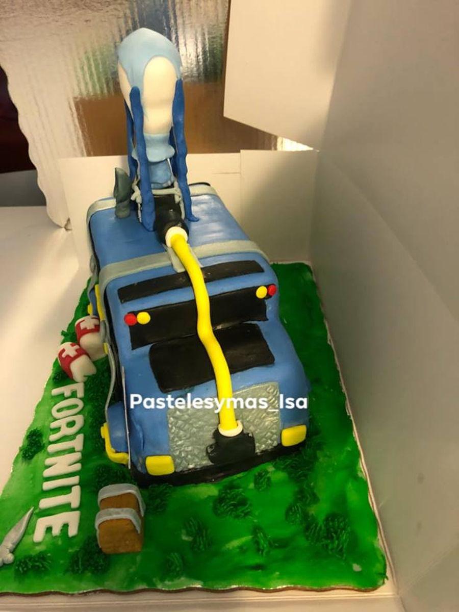 Fortnite Bus Cakecentral Com