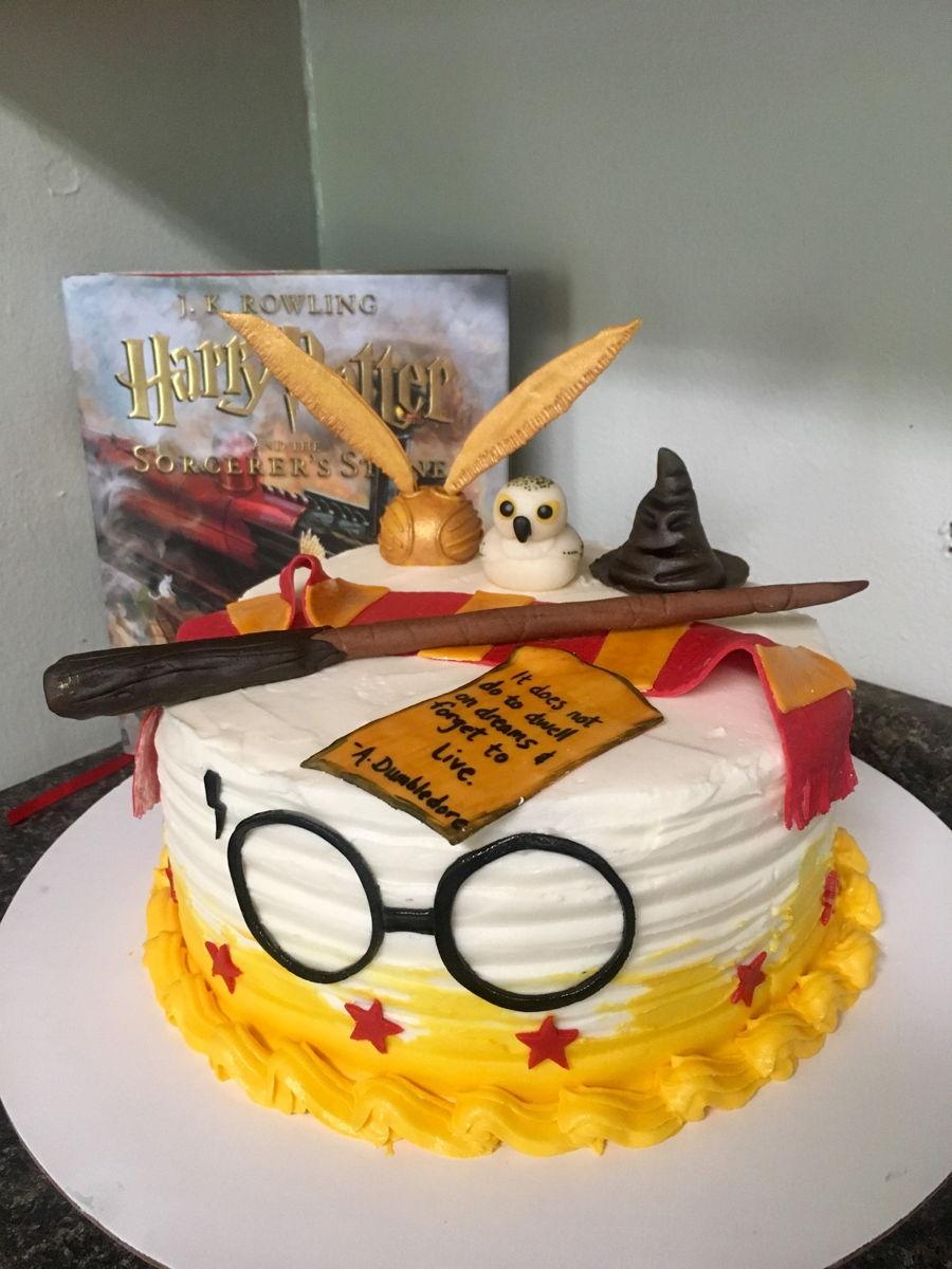 Harry Potter Cake Cakecentral Com