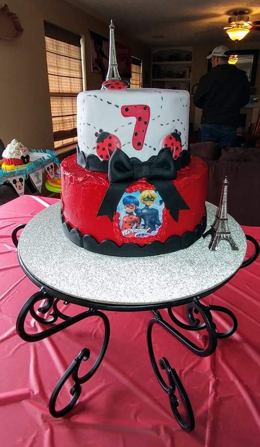 Miraculous Birthday Cake Cakecentral Com