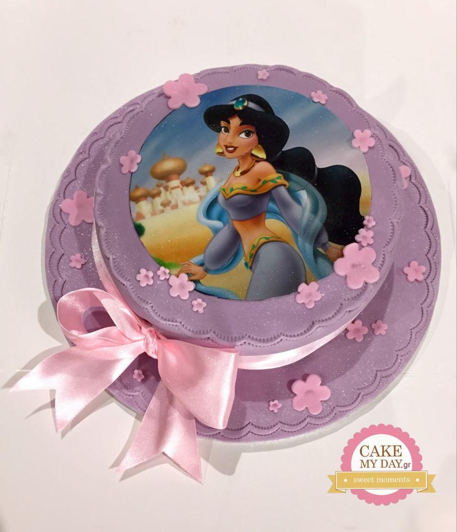 Enjoyable Princess Jasmine Birthday Cake Cakecentral Com Personalised Birthday Cards Petedlily Jamesorg