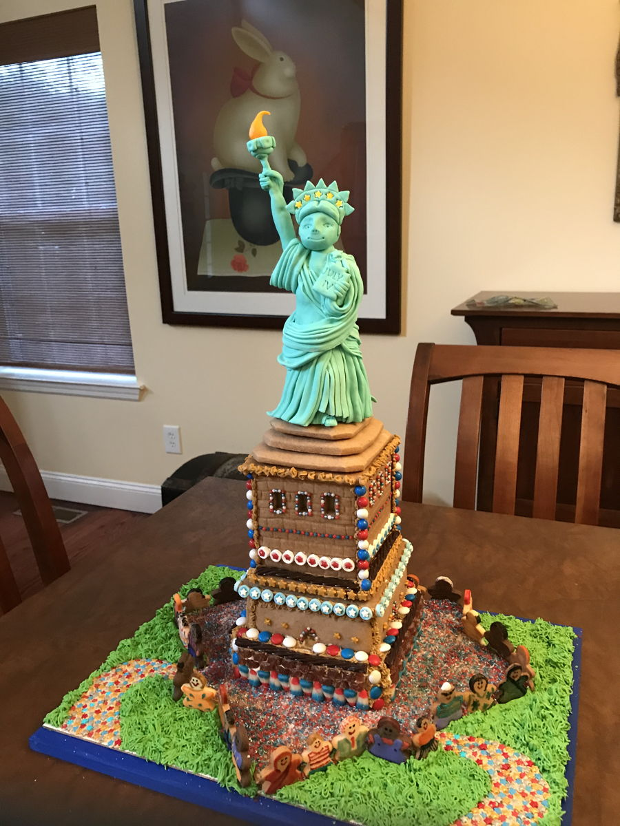 Statue Of Liberty on Cake Central