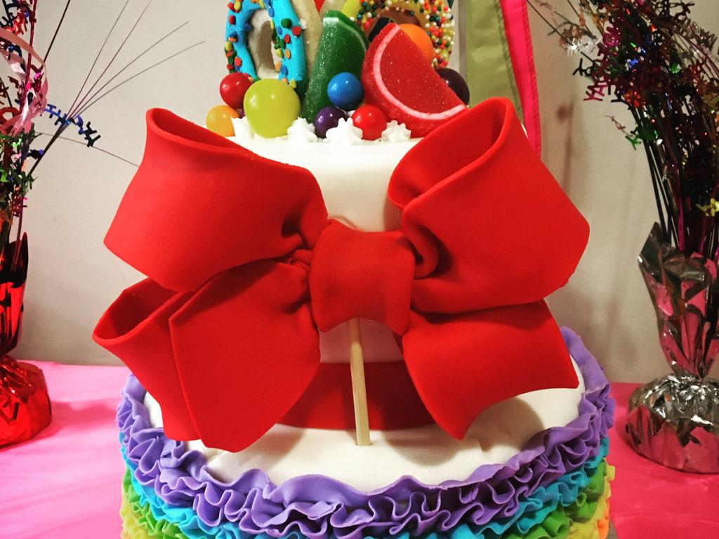 Jojo Siwa Cake - CakeCentral.com