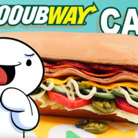 Amazing Lifelike Subway Cake! Subway make some tasty sandwiches but have you ever seen a Subway Cake?  James from the massive YouTube channel TheOdd1sOut joined...