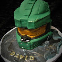 **halo** Master Commander Helmet Made for my grandson turning 9