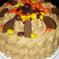 "My Birthday Cake For Today 1 of 2 Birthday cakes for today! 6"" Reese Cake."