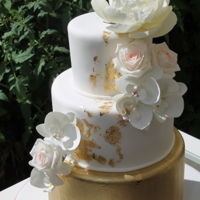 Summer Sun Weddingcake Sugarflowers