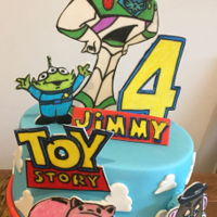 Toy Story A little cake for my Nephew
