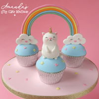 Unicat Cupcakes For a first birthday
