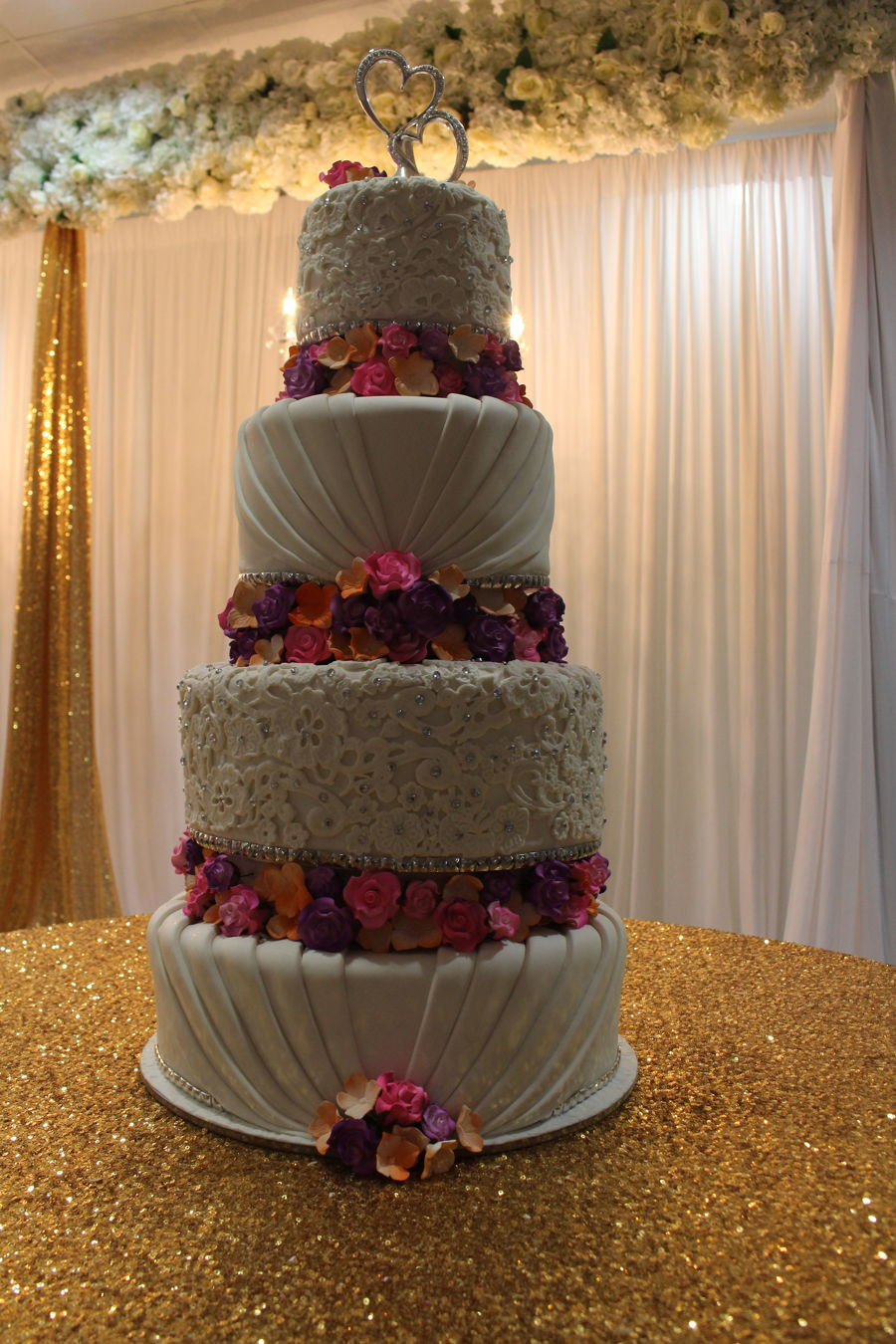 Floral Based Tiers on Cake Central