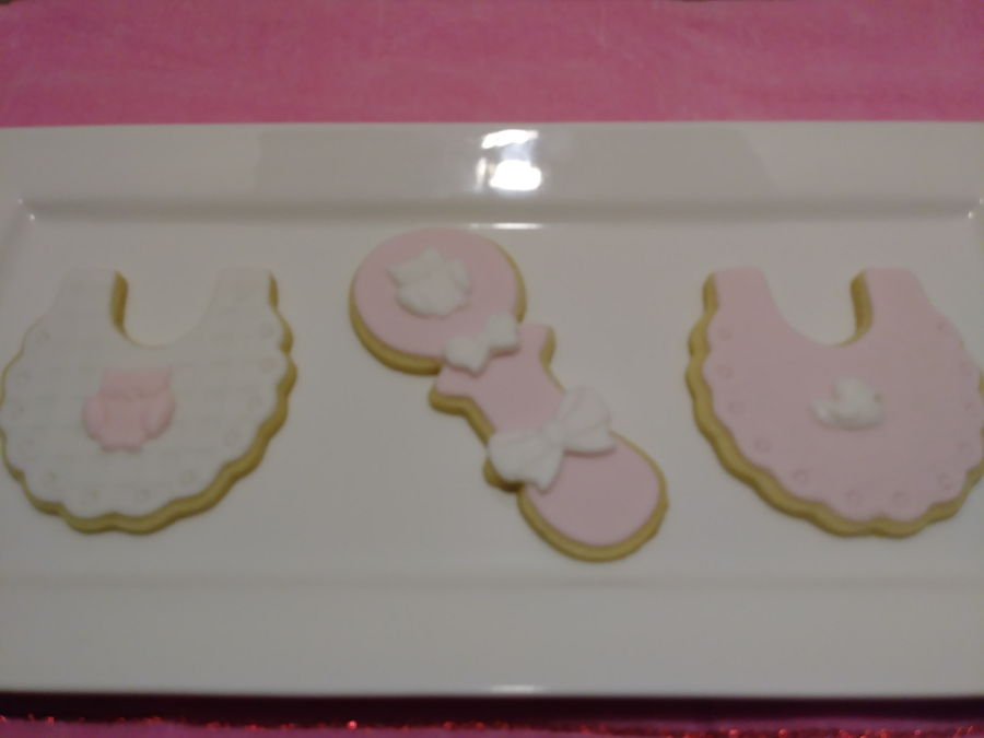 Girl Baby Shower Cookies Cakecentral Com