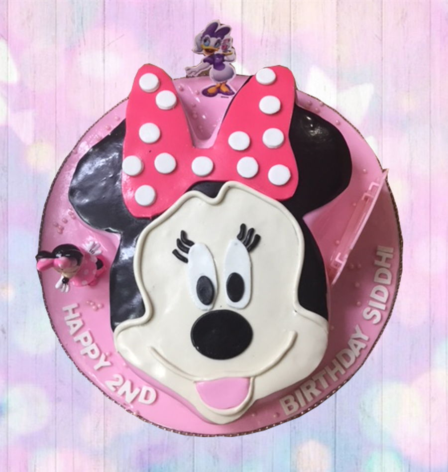 Mini Mouse Face on Cake Central