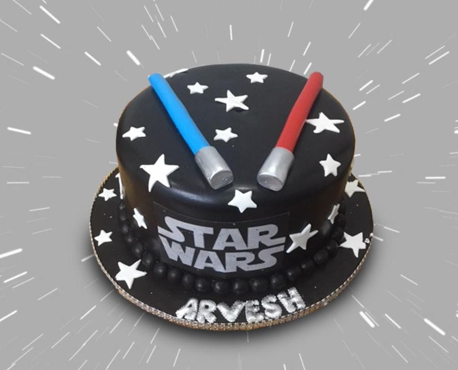 Awesome Star Wars Birthday Cake Cakecentral Com Funny Birthday Cards Online Amentibdeldamsfinfo