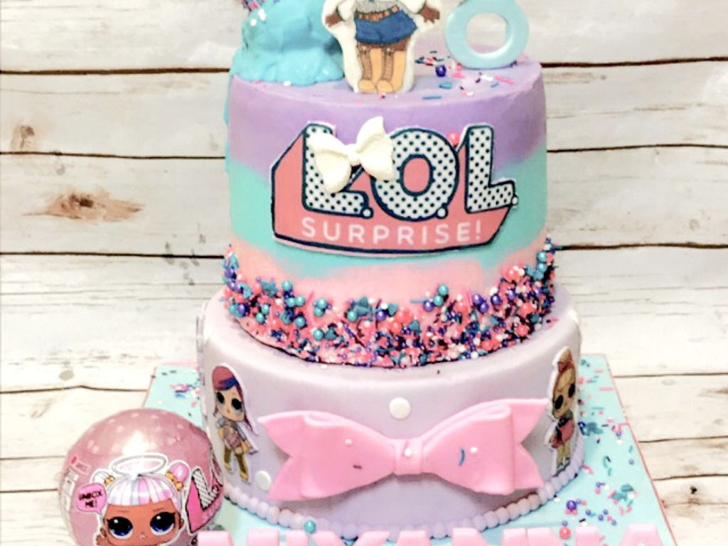 Lol Surprise Cake Cakecentral Com