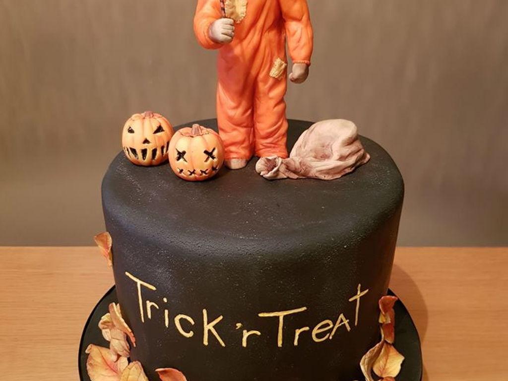 Trick R Treat Cake Cakecentral Com