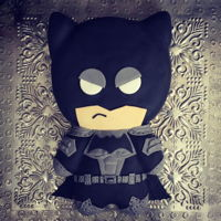 Batman Cake! Batman cake for little heroes! The cake is a rosewater sponge cake filled with bubblegum buttercream. Thanks to the internet for the...