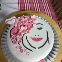 Bithday Cake For my 13 years old granddaugter