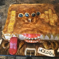 Book Of Monsters All handmade and edible