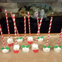 Christmas Cake Pops Assorted Christmas cake pops