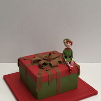 Elfkins Made this biscuit cake for my grandchildren as they love elves!