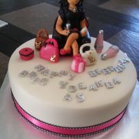 Fashion Girl Fondant and gumpaste