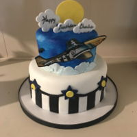 """Ferocious Frankie"" Ww 2 Aircraft Cake Based of the WW2 aircraft ""Ferociois Frankie"""