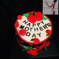 Happy Mother's Day I know it's super late it's been such a while since I posted my work. Happy Mother's day...lol Strawberry Cake with Vanilla...