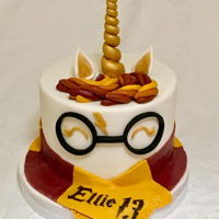Harry Potter Unicorn Cake Harry Potter Unicorn cake