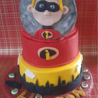 Hudson'S Incredibles Birthday Cake Made for my grandson's 5th birthday. He was very specific about what he wanted. Grandma I think met all his requests.