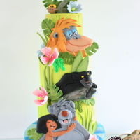 Jungle Book A jungle book cake for a sweet little girl