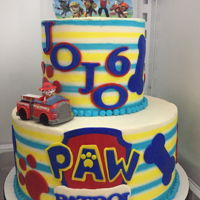 Paw Patrol Icing Smiles Cake This was my second Icing Smiles cake. So much fun!!!