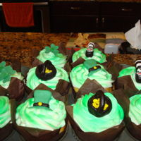 Saint Patricks Day Cupcakes Guinness cupcakes