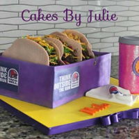 Taco Bell Cake Taco bell cake