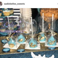 Under The Sea Under the sea Cakepops and chocolate covered strawberries
