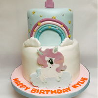 Unicorn Birthday Cake Fondant