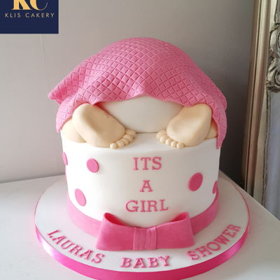 Baby Shower Cake - It's A Girl!
