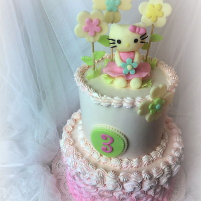 Candy Clay Hello Kitty Cake