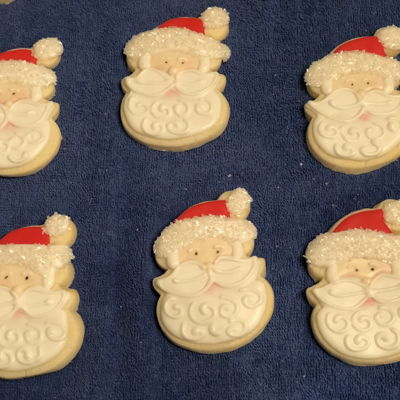 Christmas Santa Cookie