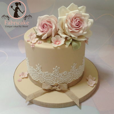 Pretty Little Flower Birthday Cake
