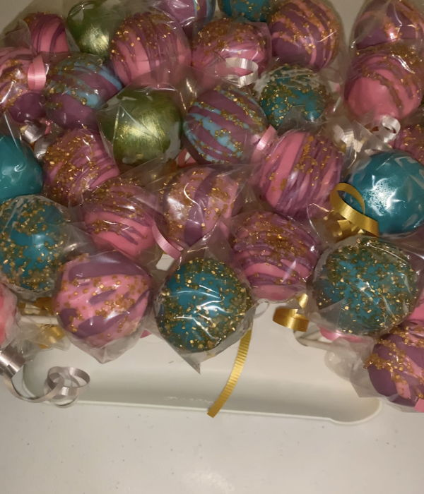 Shimmer And Shine Cakepops