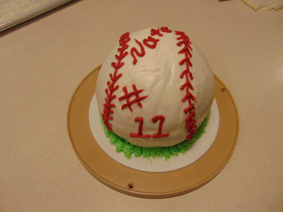 11 Yr Old Birthday Boy Who Enjoys Baseball on Cake Central