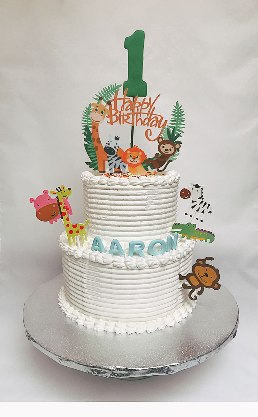 Animal Themed Birthday Cake on Cake Central