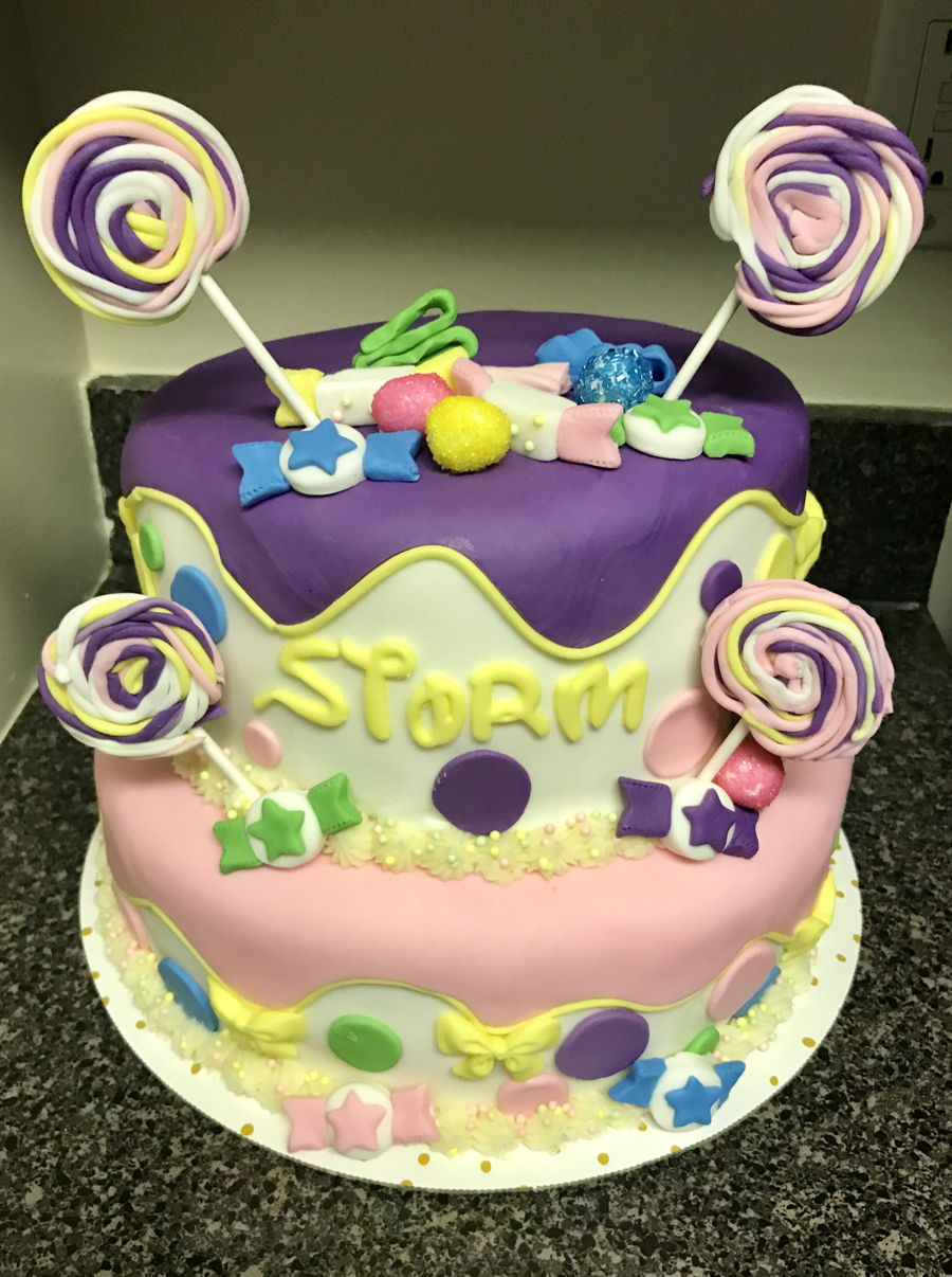 Enjoyable Candyland Birthday Cake Cakecentral Com Birthday Cards Printable Opercafe Filternl