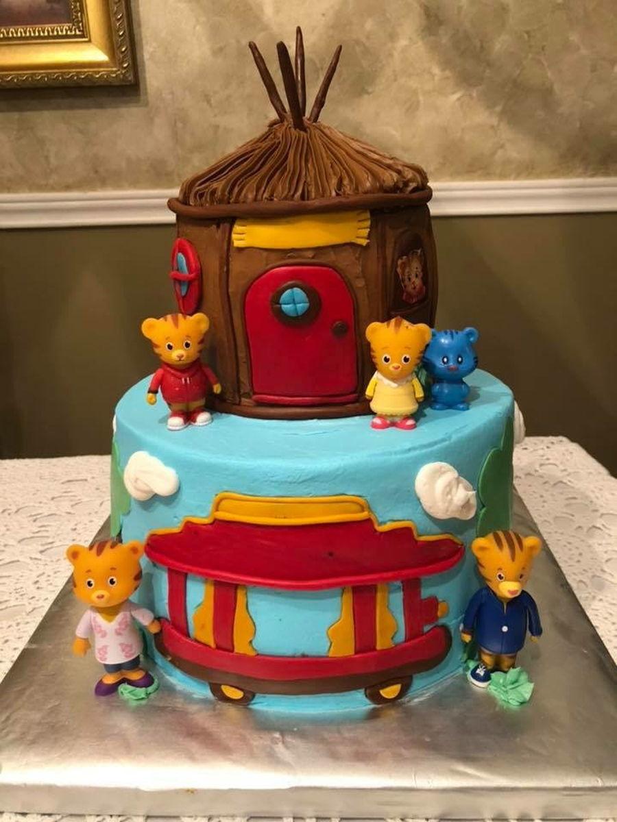 Outstanding Daniel Tiger Cake Cakecentral Com Funny Birthday Cards Online Elaedamsfinfo