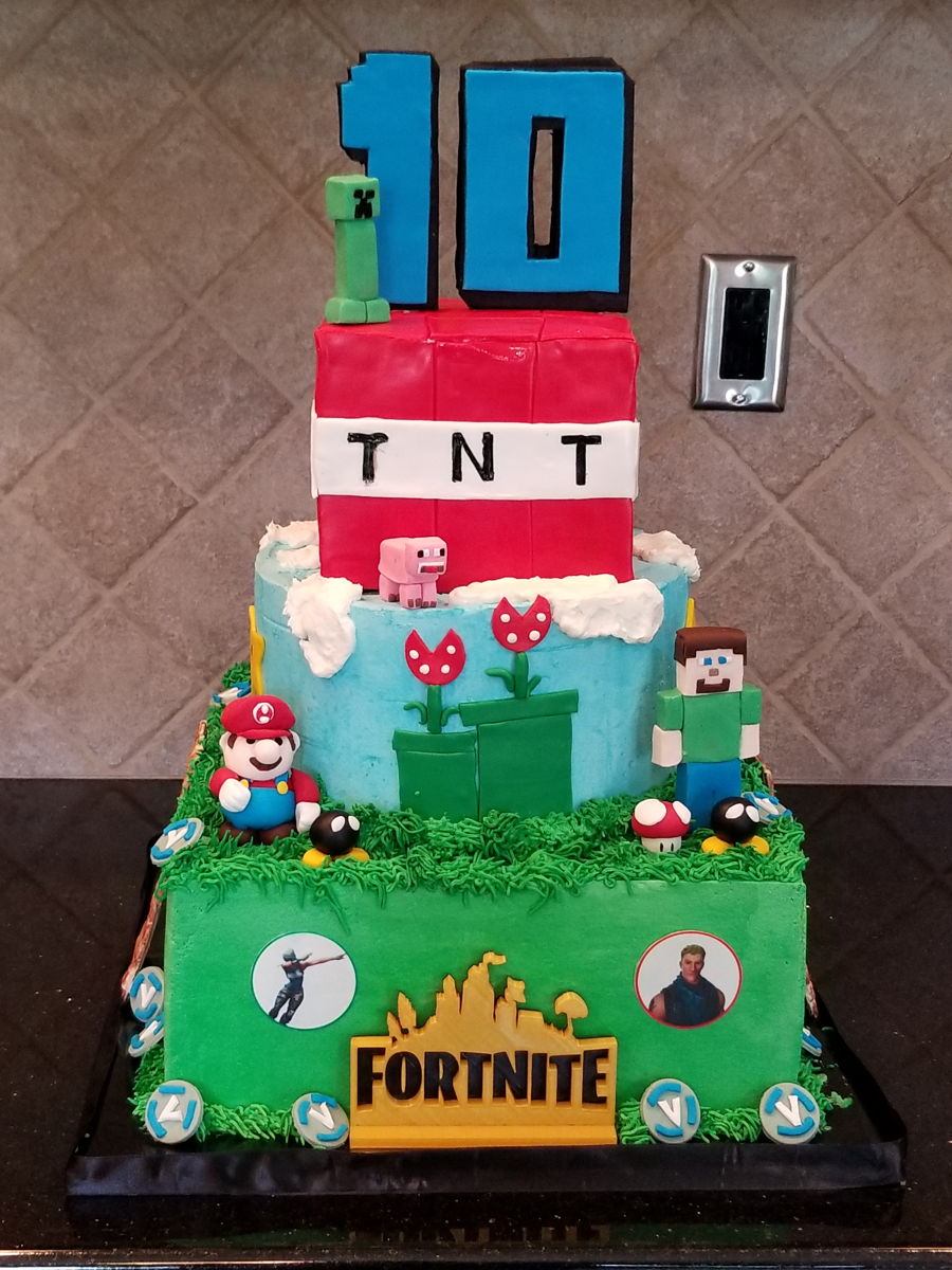 Fortnite Birthday on Cake Central