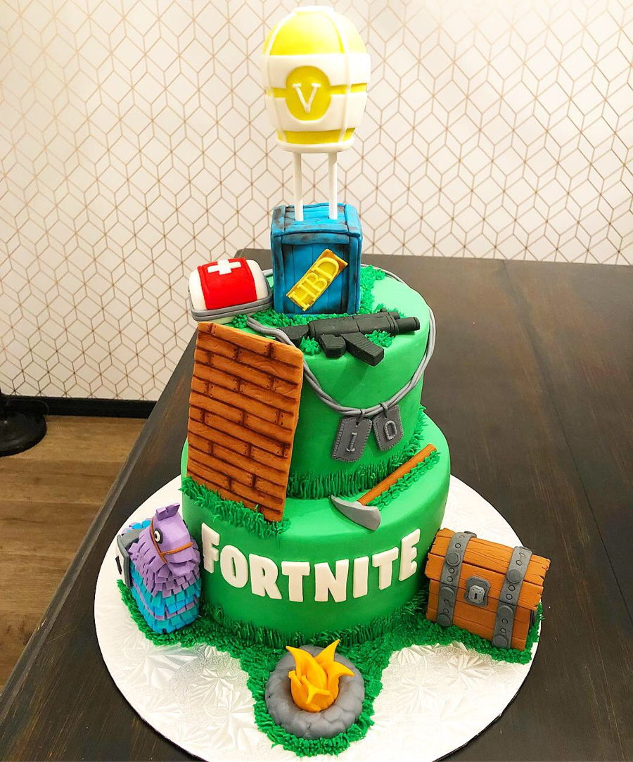 Where Are The 10 Birthday Cakes In Fortnite